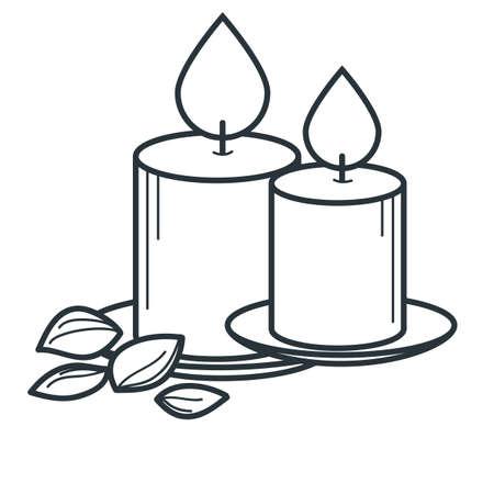 bougies Vecteurs
