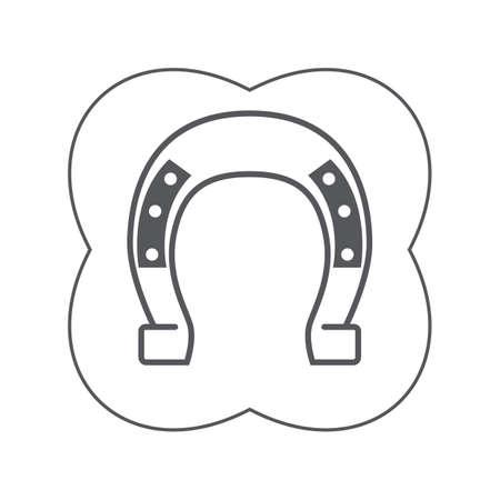 iron horseshoe 写真素材 - 106672822