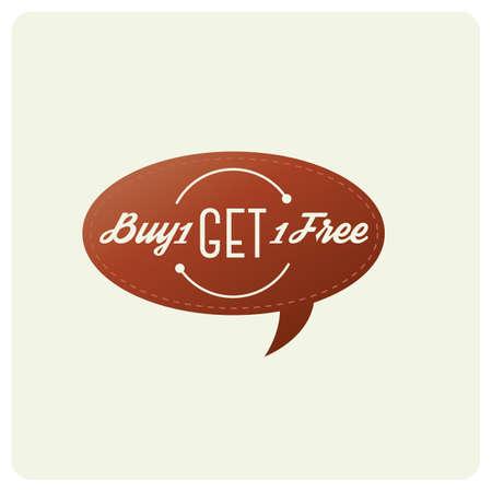 하나 사면 무료 배지를 사세요.