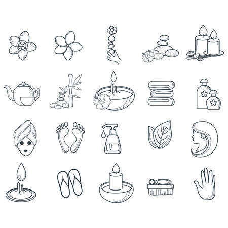 spa icons collection