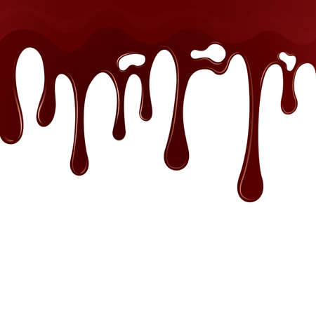 dripping blood background Illustration