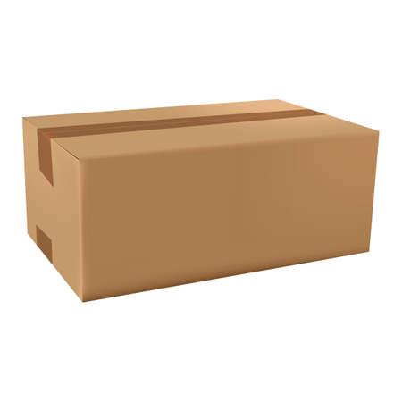 cardboard box Ilustração