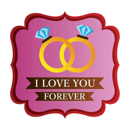 i love you forever label