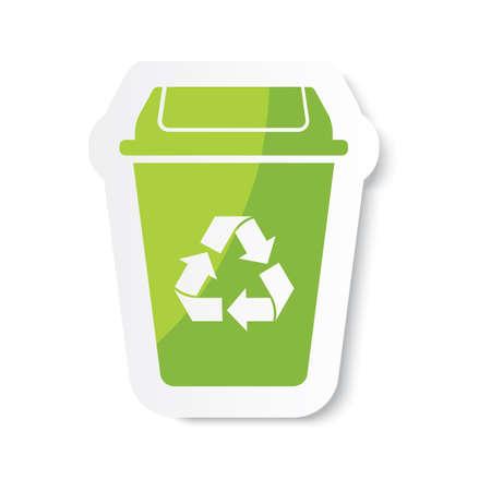 recycle bin 일러스트