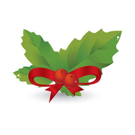 Kerstmis hulstfruit
