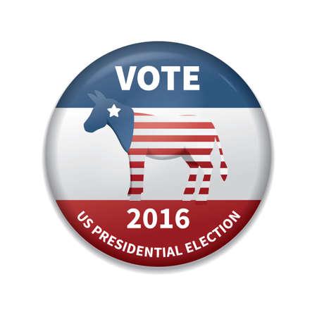 donkey vote badge