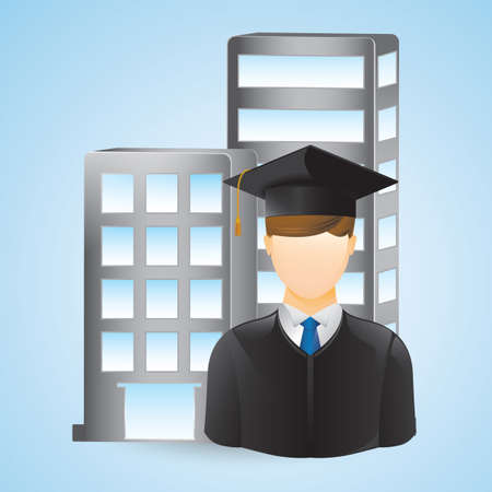 graduation student Banco de Imagens - 81536028