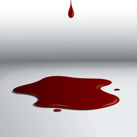 血液スプラッタ  イラスト・ベクター素材