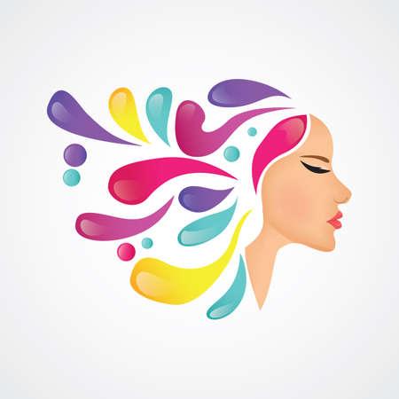 concept de design pour salon de beauté
