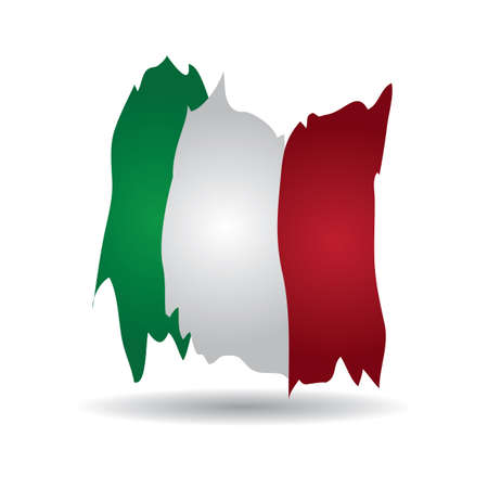 italy flag Imagens - 106673015