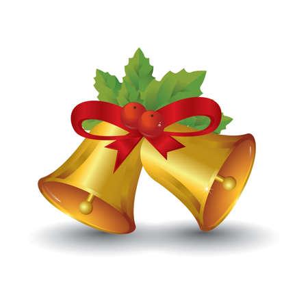 christmas bells Ilustracja
