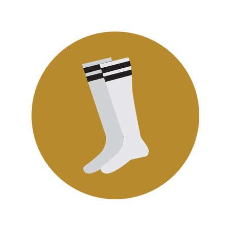 des chaussettes Vecteurs