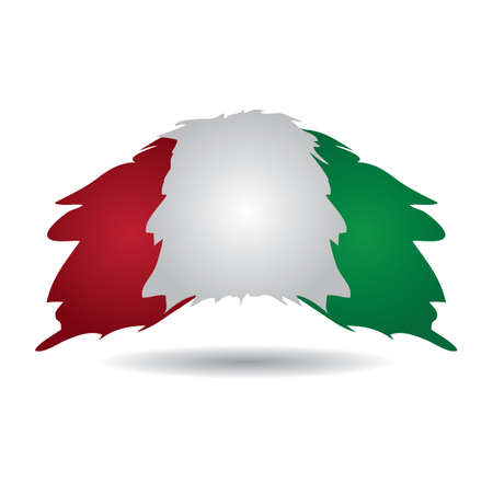 italy flag Foto de archivo - 106673044