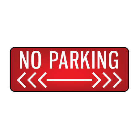no parking signboard 版權商用圖片 - 106673054