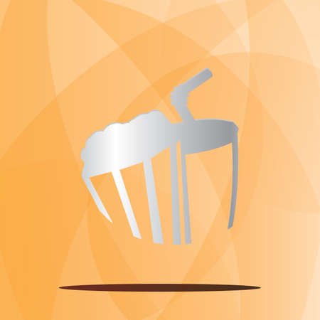 Drink and popcorn icon