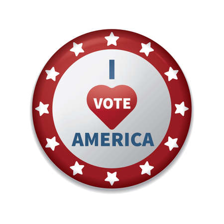 i vote america badge