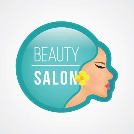 concepto de diseño para salón de belleza