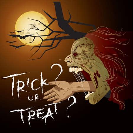 cartel de fantasma de halloween