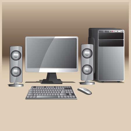Computer icon Illustration
