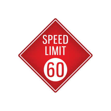 speed limit 60 signboard