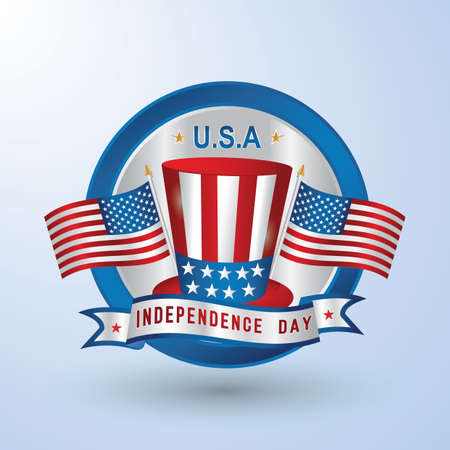 usa independence day Ilustrace
