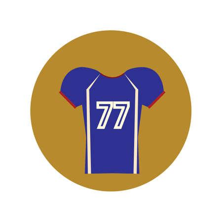 football jersey 向量圖像