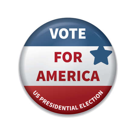 vote for america badge 스톡 콘텐츠 - 106673177