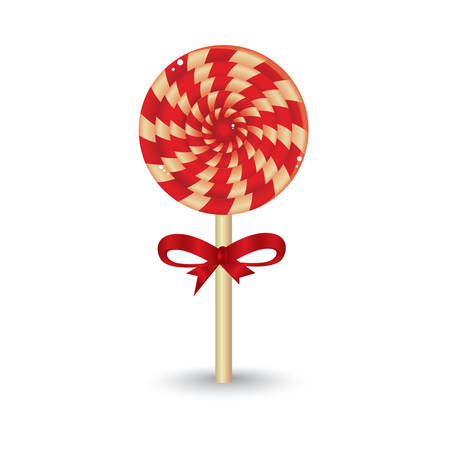 confection: christmas lollipop