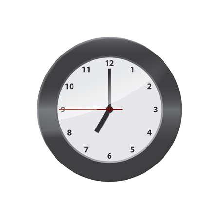 wall clock Ilustração