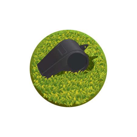 Whistle icon Illustration