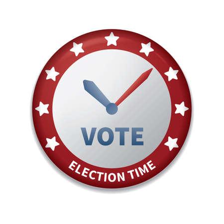 insignia de voto de Estados Unidos