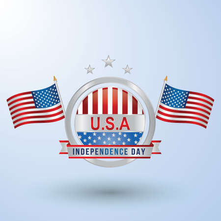 usa independence day 向量圖像