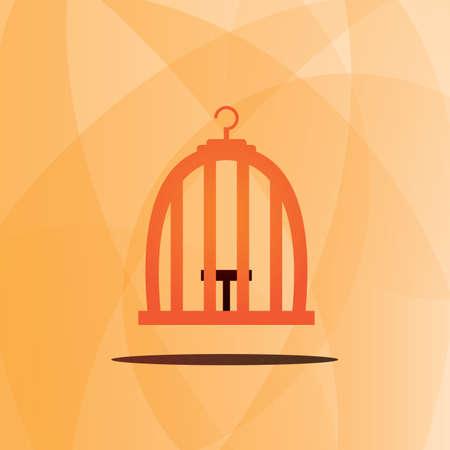 Bird cage Ilustracja