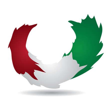 italy flag Çizim