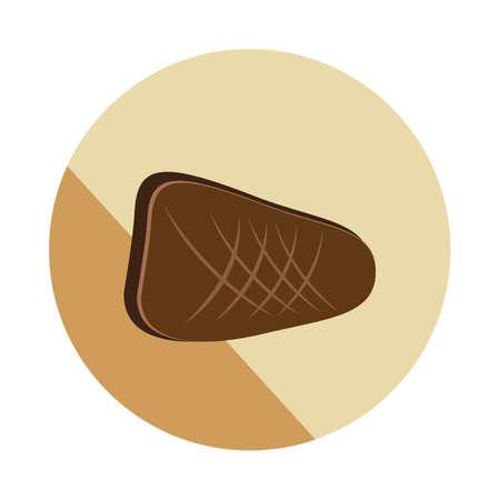 beef steak Ilustracja