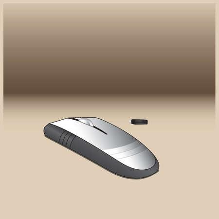 Computer mouse Ilustração