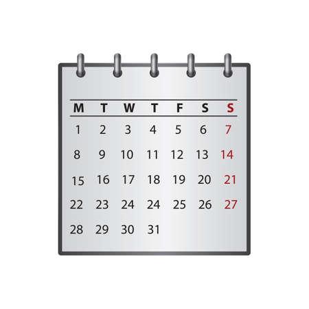 Calendar 向量圖像