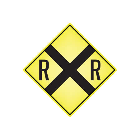 railway crossing signboard