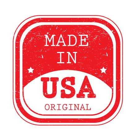 米国のラベルで作られた A。