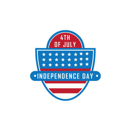 usa independence day label