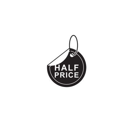 half price tag Imagens - 81538802