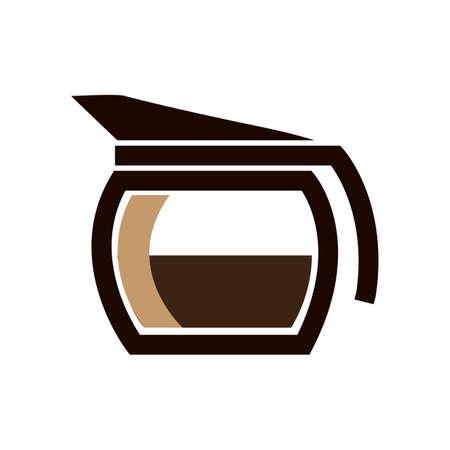coffee jug Illustration