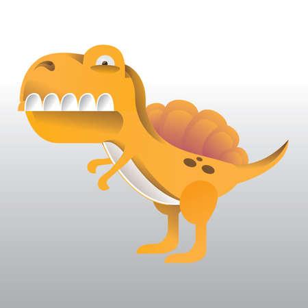 Tyrannosaur Illustration