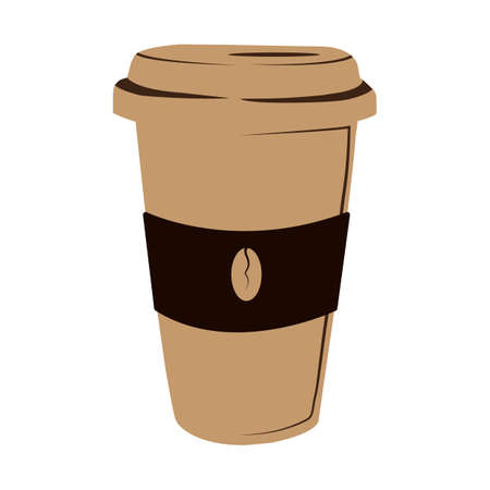 hot coffee takeaway cup
