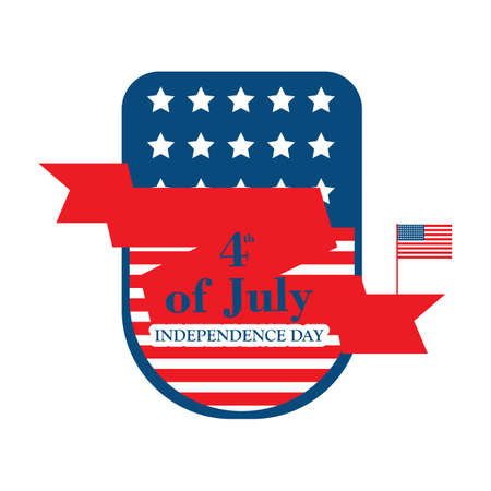 usa independence day banner