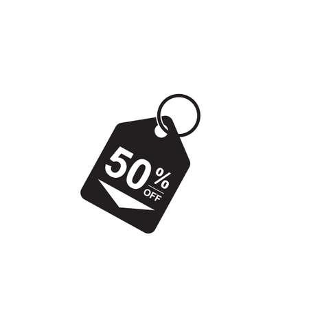 50% オフタグ  イラスト・ベクター素材