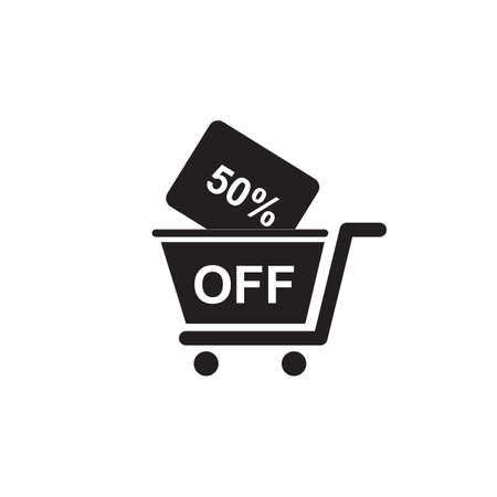 50 percent off cart