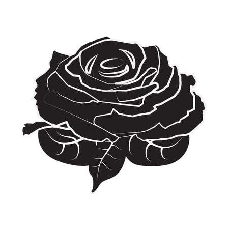 Rose-Symbol Standard-Bild - 81535993