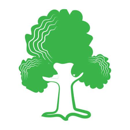 tree icon 版權商用圖片 - 81535999