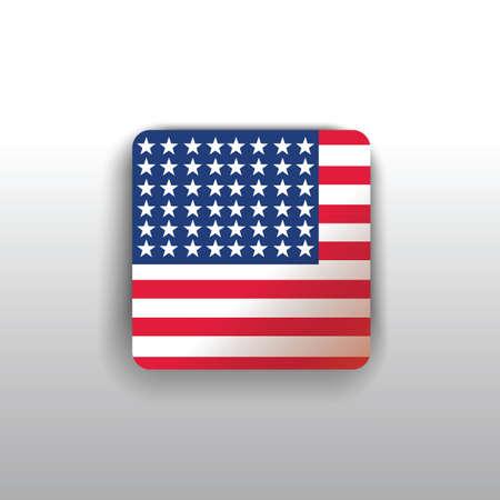 american flag 向量圖像